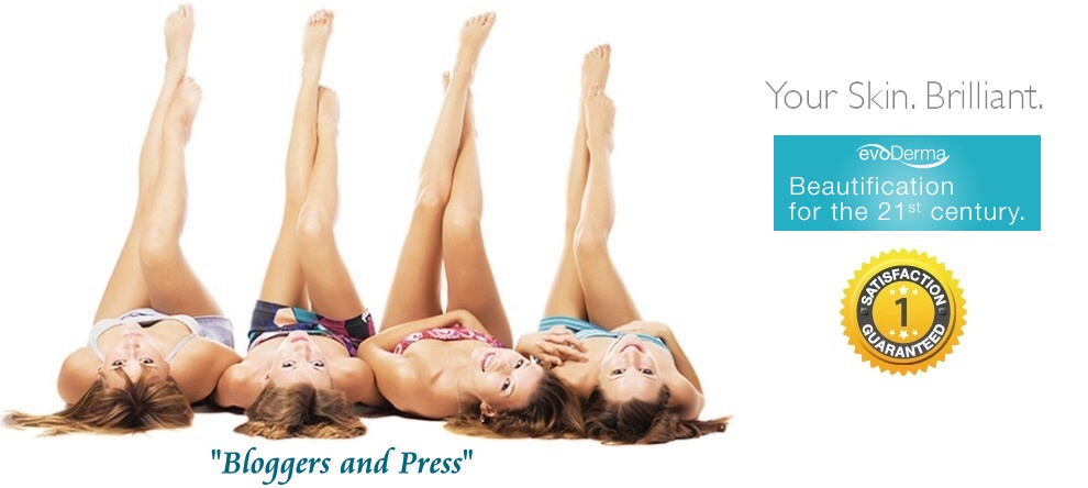 evoDERMA Bloggers and Press